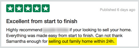 online estate agent review