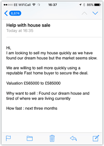 sell house fast reviews
